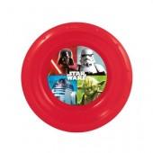 Prato de plástico dos Star Wars