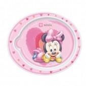 Prato Disney Minnie bebe