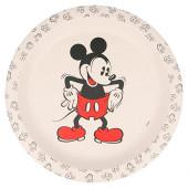 Prato Mickey 90 Anos Bambu