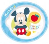 Prato Mickey bebé Microondas