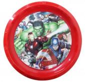 Prato Plástico Avengers
