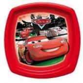 Prato Plástico Cars Faísca McQueen