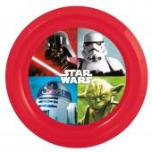 Prato plástico com dos Star Wars