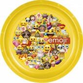 Prato Plástico - Emoji