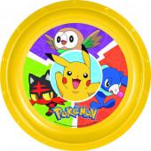 Prato Plástico Pokémon