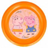 Prato Plástico Porquinha Peppa Friends