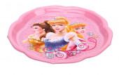 Prato Plástico Princesas Disney