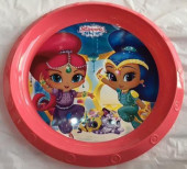 Prato Plástico Shimmer and Shine