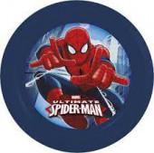 Prato Plástico Spiderman Marvel