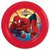 Prato Plástico Spiderman Ultimate