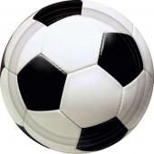Pratos Festa Futebol 17cm