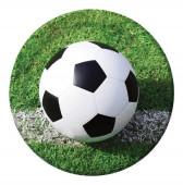 Pratos Festa Futebol 22 cm 8 unid