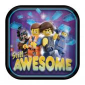 Pratos Lego Movie 2 18cm - 8 Und