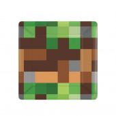 Pratos Minecraft - 8 Und