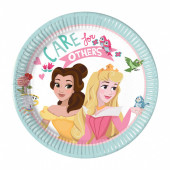 Pratos Princesas Disney Dare to Dream 20cm