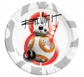 Pratos Star Wars - The Last Jedi 23cm 8 unid