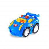Primeiro Carro Azul Divertido Toca e Foge Happy Kid 12+