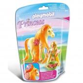 Princesa Sol + Cavalo Playmobil