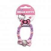 Pulseira com Lacinho Hello Kitty
