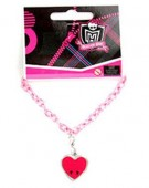 Pulseira Draculaura corrente monster high
