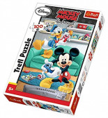 Puzzle 100 pcs Mickey e Donald Disney