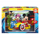 Puzzle 100 pcs Mickey Super Pilotos