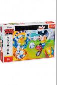 Puzzle 100 peças Mickey Futebol