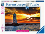 Puzzle 1000 peças Farol de Mangiabarche Sardenha