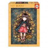 Puzzle 1000 peças Gorjuss - Folhas de Outono