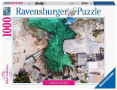 Puzzle 1000 peças Paisagem Caló de Sant Agustí Formentera