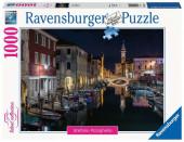 Puzzle 1000 peças Paisagem Canais de Veneza Itália