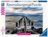 Puzzle 1000 peças Paisagem Puerto Natales Chile