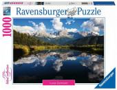 Puzzle 1000 peças Paisagem Vida na Montanha