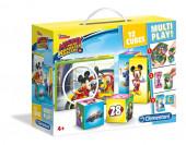 Puzzle 12 Cubos Mickey Super Pilotos