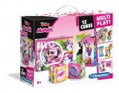 Puzzle 12 Cubos Minnie