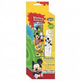 Puzzle 2 em 1 Mickey Mouse 24pcs