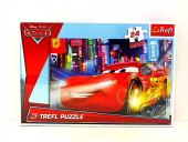 Puzzle 24 pcs Maxi Cidade à noite Cars 2