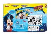 Puzzle 24 peças para pintar Mickey Mouse