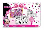 Puzzle 24 peças para pintar Minnie