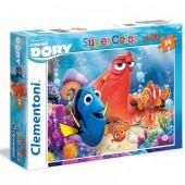 Puzzle 24 peças Procurando a Dory Disney