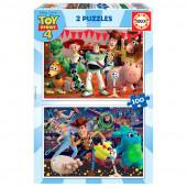 Puzzle 2x100 peças Toy Story 4