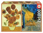 Puzzle 2x1000 peças Vincent Van Gogh