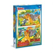 Puzzle 2x20 peças Guarda do Leão