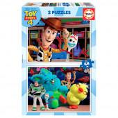 Puzzle 2x48 peças Toy Story 4