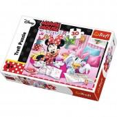 Puzzle 30 peças Minnie e Margarida - Disney