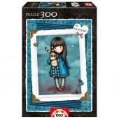 Puzzle 300 peças  Gorjuss - Hush Little Bunny