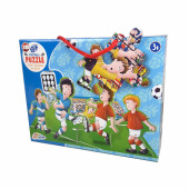 Puzzle 3D Futebol 45 peças