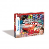 Puzzle 3D Mc Queen Cars 104pz + Oculos