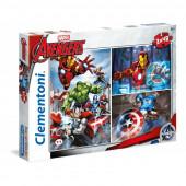 Puzzle 3x48 peças Avengers
