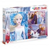 Puzzle 3x48 peças Frozen 2 Disney